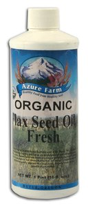 Azure Farms Organic Flax Seed Oil